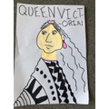 Emilia's lovely Queen Victoria picture!