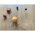 Samuel's super solar system!