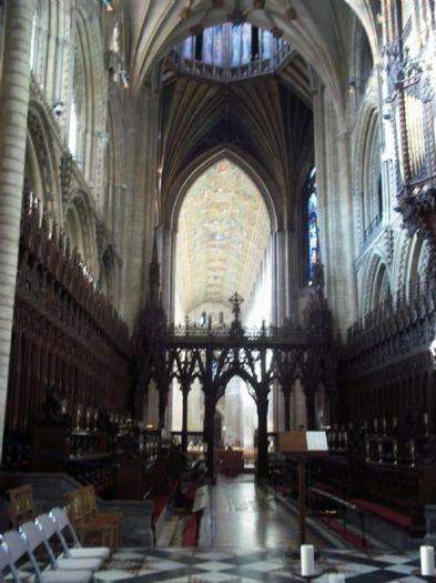 Where the choir sit