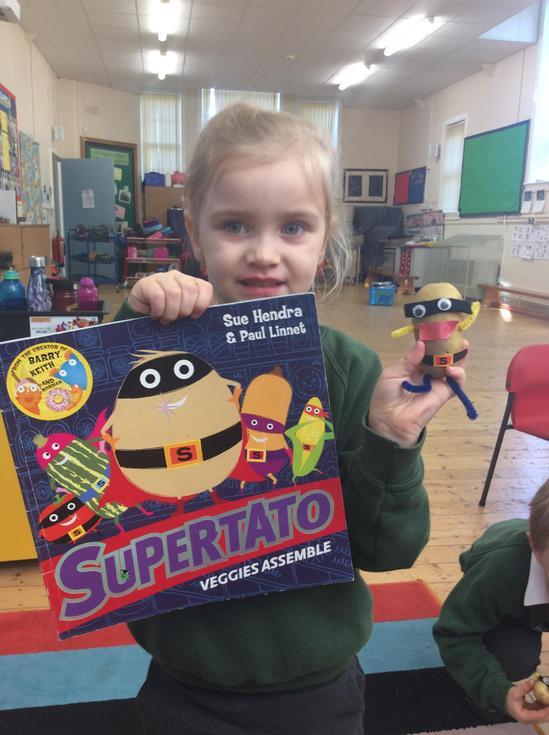 We love Supertato!
