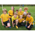 Our Tag Rugby players.