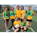 Our talented netball players