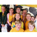 Year 6 at the Vale Sports.
