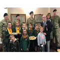 Taking our cookies to the Royal British Legion