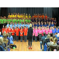 Our colourful Vale Choral performance