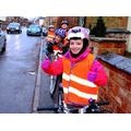 Some of our safe cyclists.