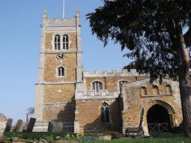 Our local village church - St Egelwin's