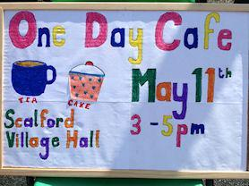 One Day Cafe for members of the community