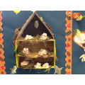 We made these owl models
