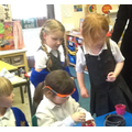 The children created their own special potions.