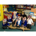 We made owl masks to act out the story