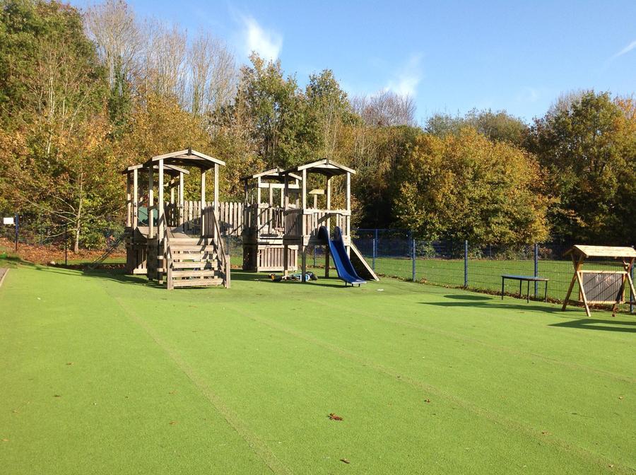 KS1 play area