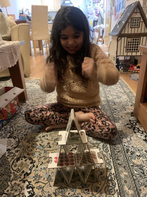 A super balanced pyramid by Zeenah..