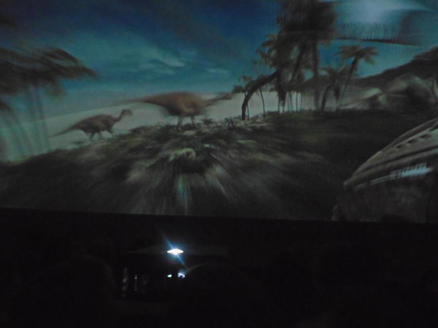 The sauropods ran right over us!
