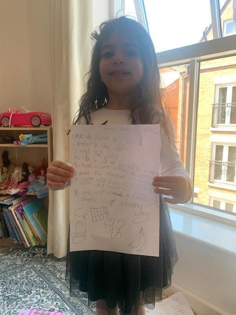 Zeenah's been busy with more beautiful writing!