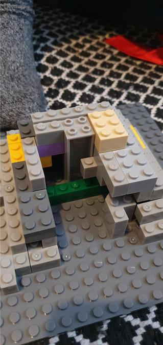 A tomb inside Dylan's lego pyramid