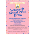 Scarcroft Grand Prize Draw poster