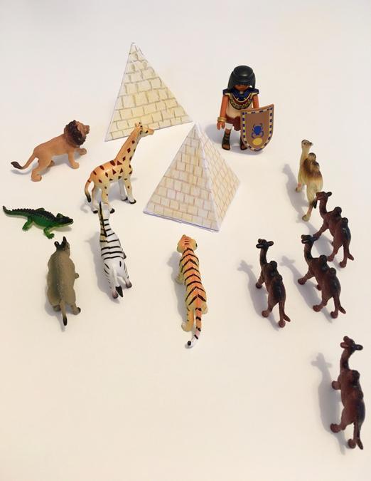 A super Egyptian scene created by Adi