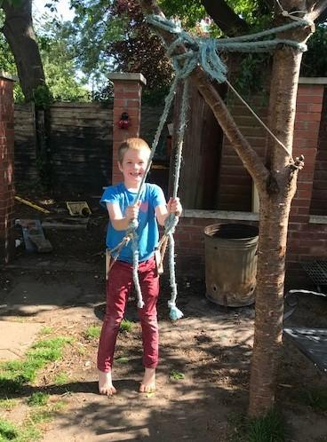 Seth's super swing!