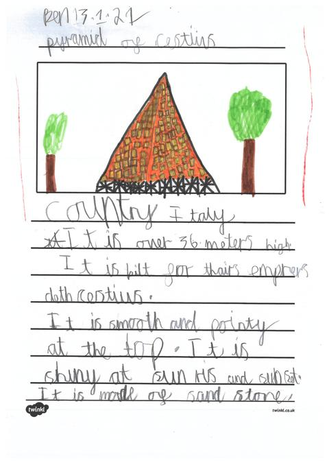 Ben's page about pyramids from across the world.