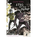 We read the first few chapters about meeting Stig.