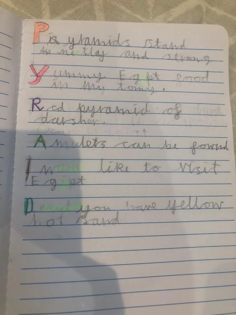 Eva's excellent 'Pyramid' poem