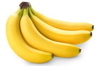 Bananas - grown in tropical rainforests.