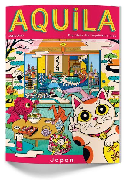 Aquila - a mag with a different topic each issue.