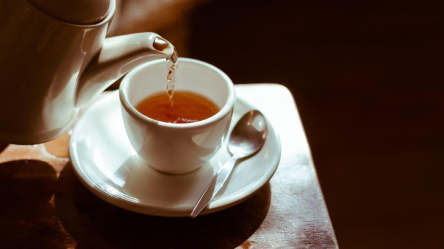 Tea - grown in tropical rainforests.