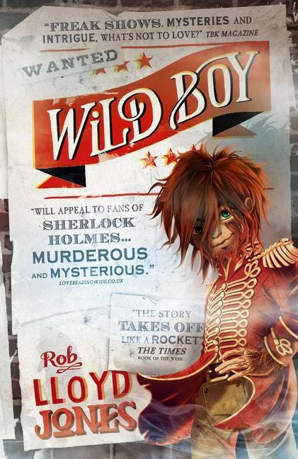 Our book for the first part of the spring term is the fantastic Wild Boy!