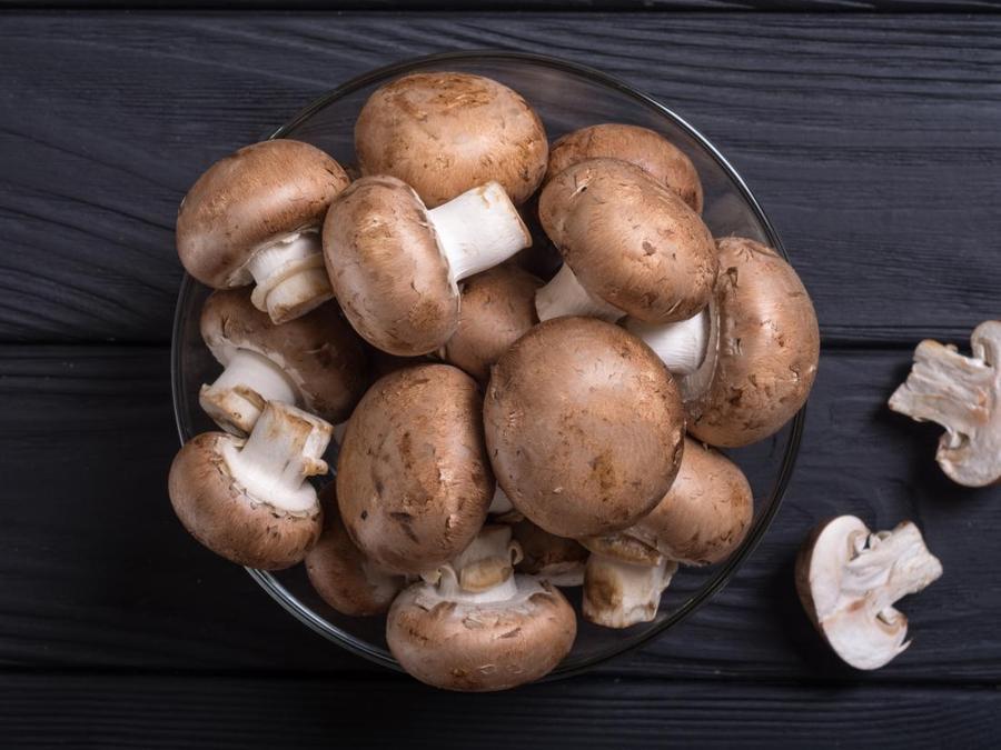 Mushrooms - grown in Britain