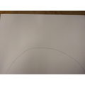 Draw a semi-circle at the bottom of the page for the mound.