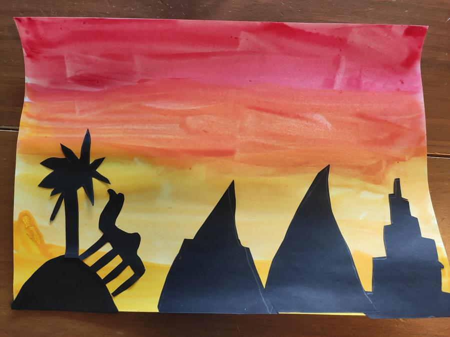 Katherine's superb silhouette picture!