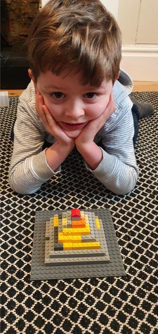 Dylan's super lego pyramid