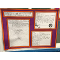 Science marble investigative writing