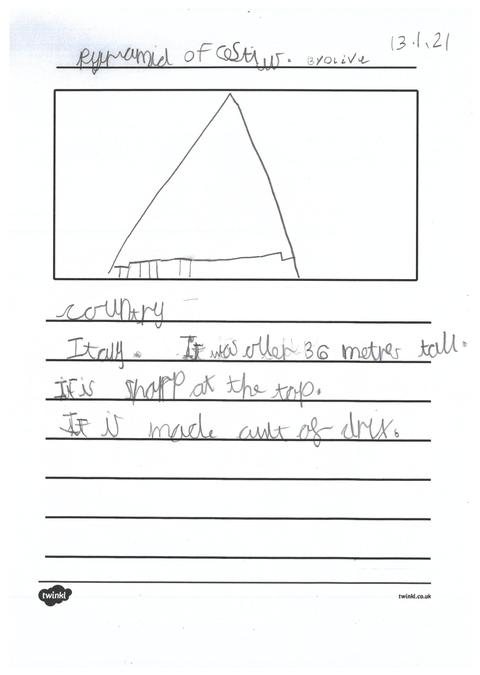 Olive's page about pyramids across the world.