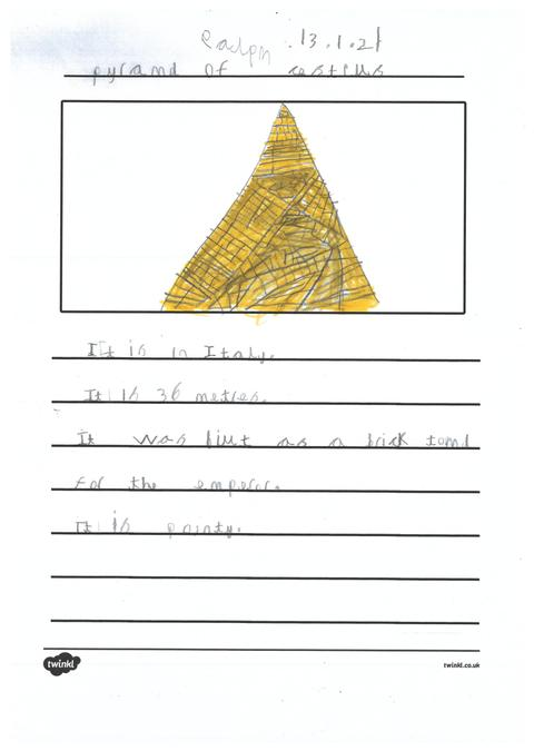 Ralph's page about pyramids across the world.