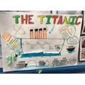 Sinking of the Titanic writing