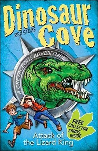 We started the year reading Dinosaur Cove.