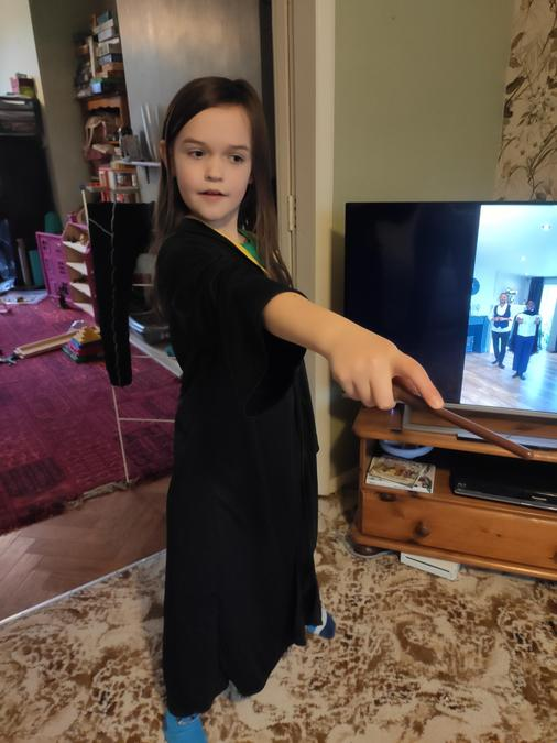 Katherine has been doing a Harry Potter dance with Oti Mabuse!