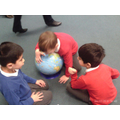 Finding countries on a globe