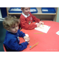 Tracing and colouring