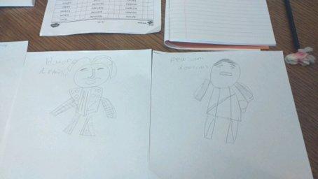 Dominic's art work is lovely