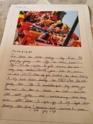 Leah's fabulous writing.