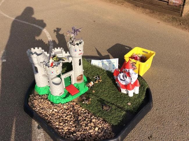Fairytale Kingdom Tray