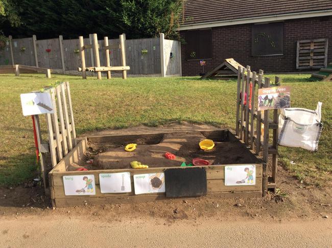 Digging Area