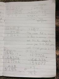 Sonaz has been busy with maths too