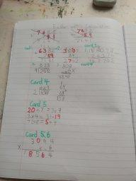Tatiana enjoyed the challenge of maths this week
