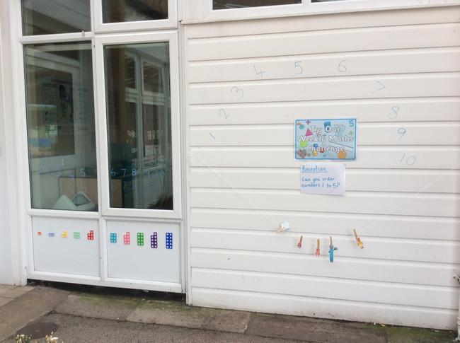 Reception Enhanced Math Challenge