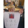Amazing Spiderman letters!